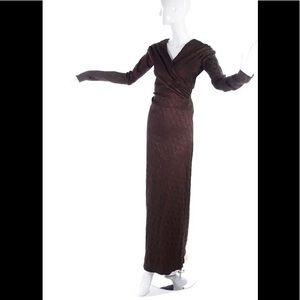 Jean Paul Gautier Wool Gown/Dress